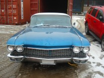 CADILLAC DEVILLE 1960 SEDAN VISTA WINDOW PROJECT