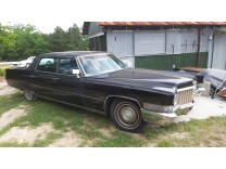 CADILLAC FLEETWOOD 1970 BLACK CRUISER
