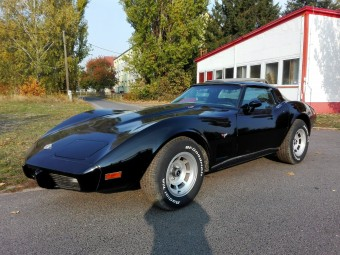 CHEVROLET CORVETTE C-3 1978 350 V8 4 SPEED KLIMA