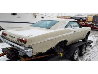 CHEVROLET IMPALA SS 1965 COUPE PROJECT