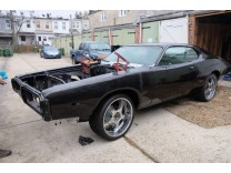 DODGE CHARGER 1973 V8 318 PROJECT TO FINISH