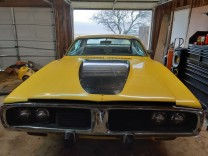 DODGE CHARGER 1973 400 BIG BLOCK RT HOOD