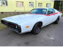 DODGE CHARGER 1973 SHOWCAR WHITE & RED