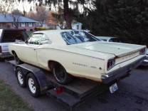 DODGE CORONET 440 COUPE 1968 BASE R/T SUPER BEE CLONE