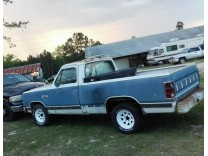 DODGE RAM 150 CUSTOM PICKUP 1986 318V8