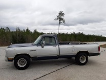 DODGE RAM 150 LE EDITION '88 PICKUP V8 KLIMA