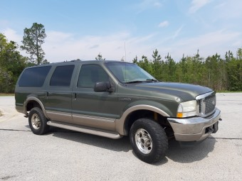 FORD EXCURSION LIMITED 2002 SILNIK V10 6800 310HP AUTO 4X4 NICE DRIVER