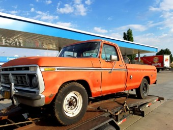 FORD F-250 PICKUP 1976 302V8 RUN & DRIVE OREGON TRUCK