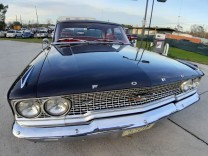 FORD GALAXIE 1964 BLACK SEDAN FBI REPLIKA V8 3 SPEED MANUAL POLICE EQUIPMENT COOL DRIVER