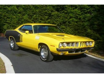 ! PLYMOUTH CUDA BARRACUDA 1971 ! BARN FIND !