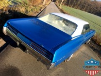 PONTIAC GRAND PRIX 1967 400V8 BLUE&WHITE
