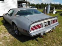 PONTIAC TRANS AM 1975 400 V8 PROJECT