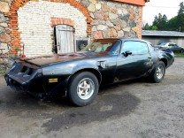 PONTIAC TRANS AM 1977 BLACK BANDIT